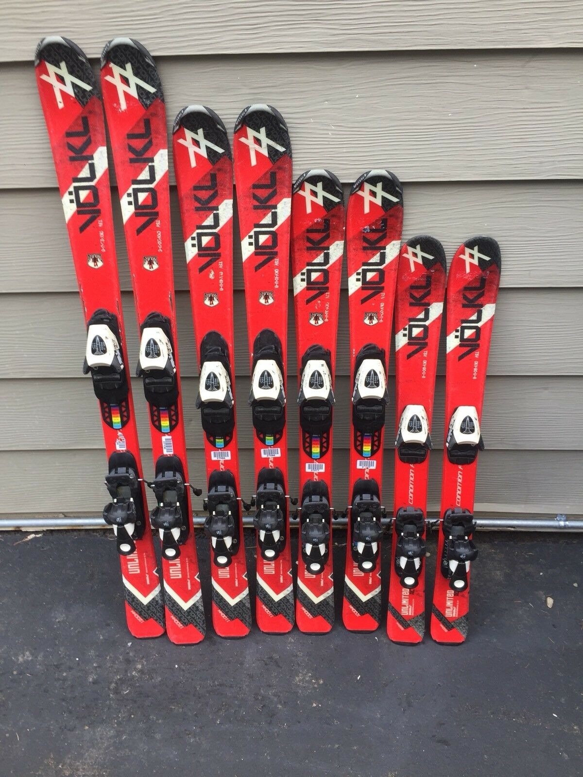 Volkl Unlimited Jr Skis With Salomon TZ 5 Jr  Adjustable Bindings  quick answers