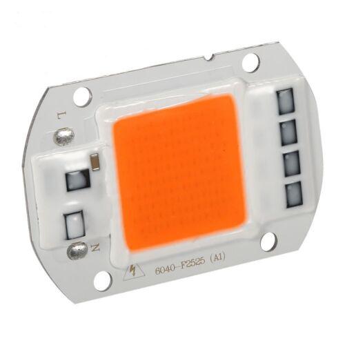 Hi-Power LED 50W VollSpektrum 380-840nm COB 230V AC