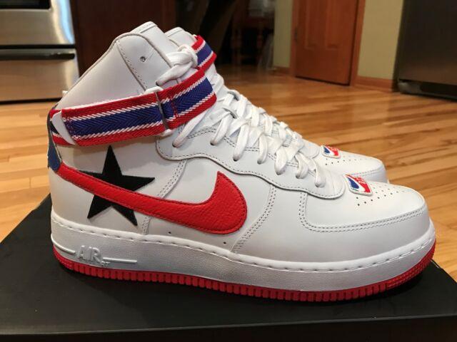 new product f4605 b0bef Nike Air Force 1 Hi RT Riccardo Tisci White Red AQ3366-100 Men s Sz 12