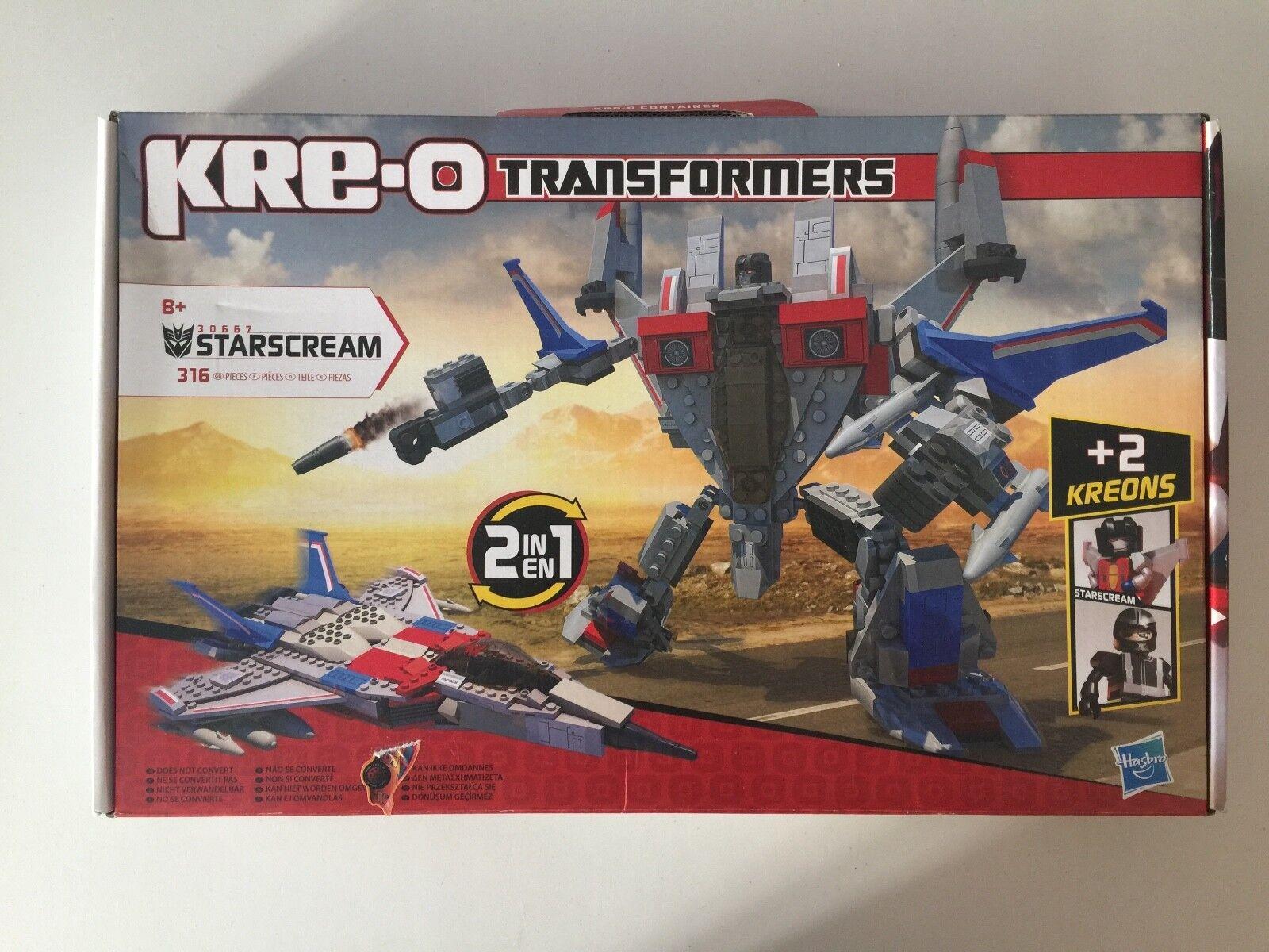 Transformers KREO kre-o STARSCREAM MISB hasbro