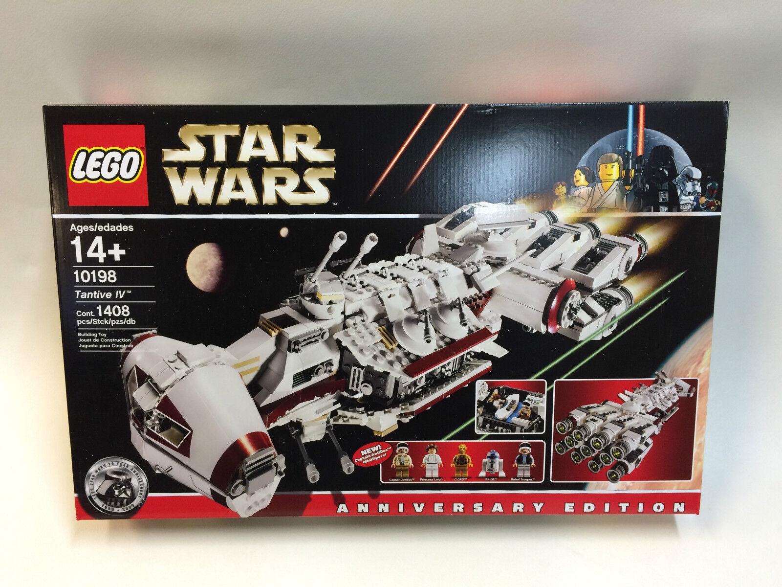 NUOVO SIGILLATO LEGO STAR WARS Tantive IV EDIZIONE ANNIVERSARIO 10198 ora FUORI PRODUZIONE