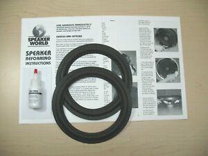 JBL-408-Series-2-8-034-Woofer-Re-foam-Repair-Kit-For-JBL-408-models-1pr