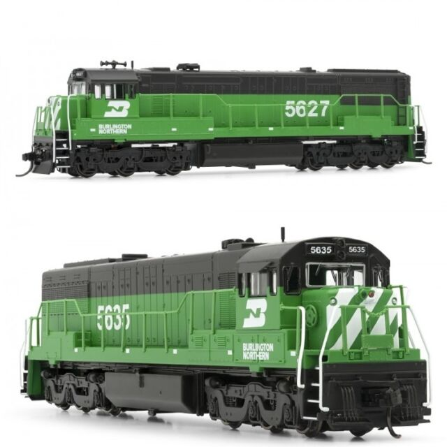 Arnold Burlington Northern GE U25C DCC Ready #5627 / #5635 N Scale Locomotives