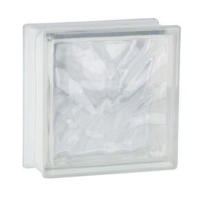 5-Stueck-Fuchs-Glasbausteine-Glassteine-Wolke-Klar-19x19x8cm