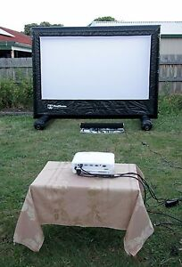 Image Is Loading HandiTheatre HD Package 2 5 M Outdoor Home