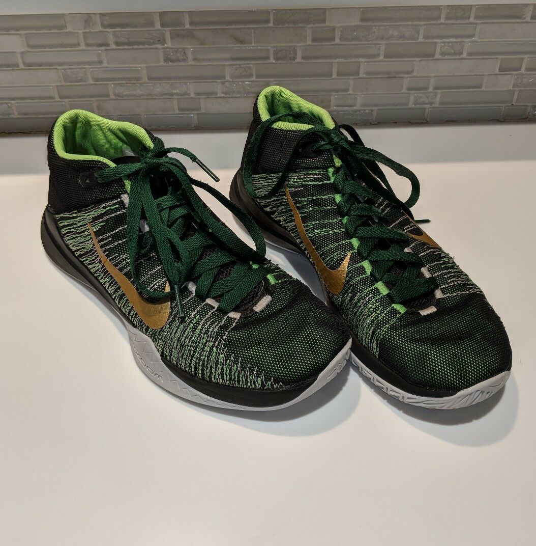 Nike Zoom Ascention Black Green Gold 832234-002 Men's Price reduction Great discount