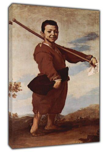 Le pied bot peinture à l/'huile par jesude RIBERA RE Imprimé sur encadrée Toile Wall Art