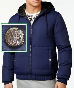 cca9ad709a Image is loading NWT-Versace-Jeans-by-Gianni-Versace-Jacket-Reversible-