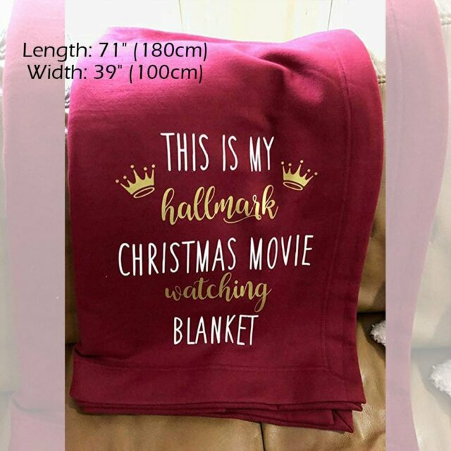 This is My Hallmark Christmas Movie Watching Blanket Xmas Throws Festival Gifts