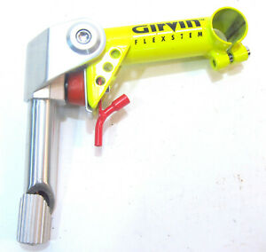 Vintage Alloy Suspension Stem MTB Bike Clamp 25.4 Quill 22.2 JD Components