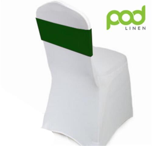 Premium 210gsm 100 x Lycra Spandex chaise Bandes Pour Mariage-chaise