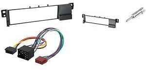 Kit-Telaio-Radio-BMW-3-E46-Iso-Adattatore-Antenna-Montaggio-Autoradio