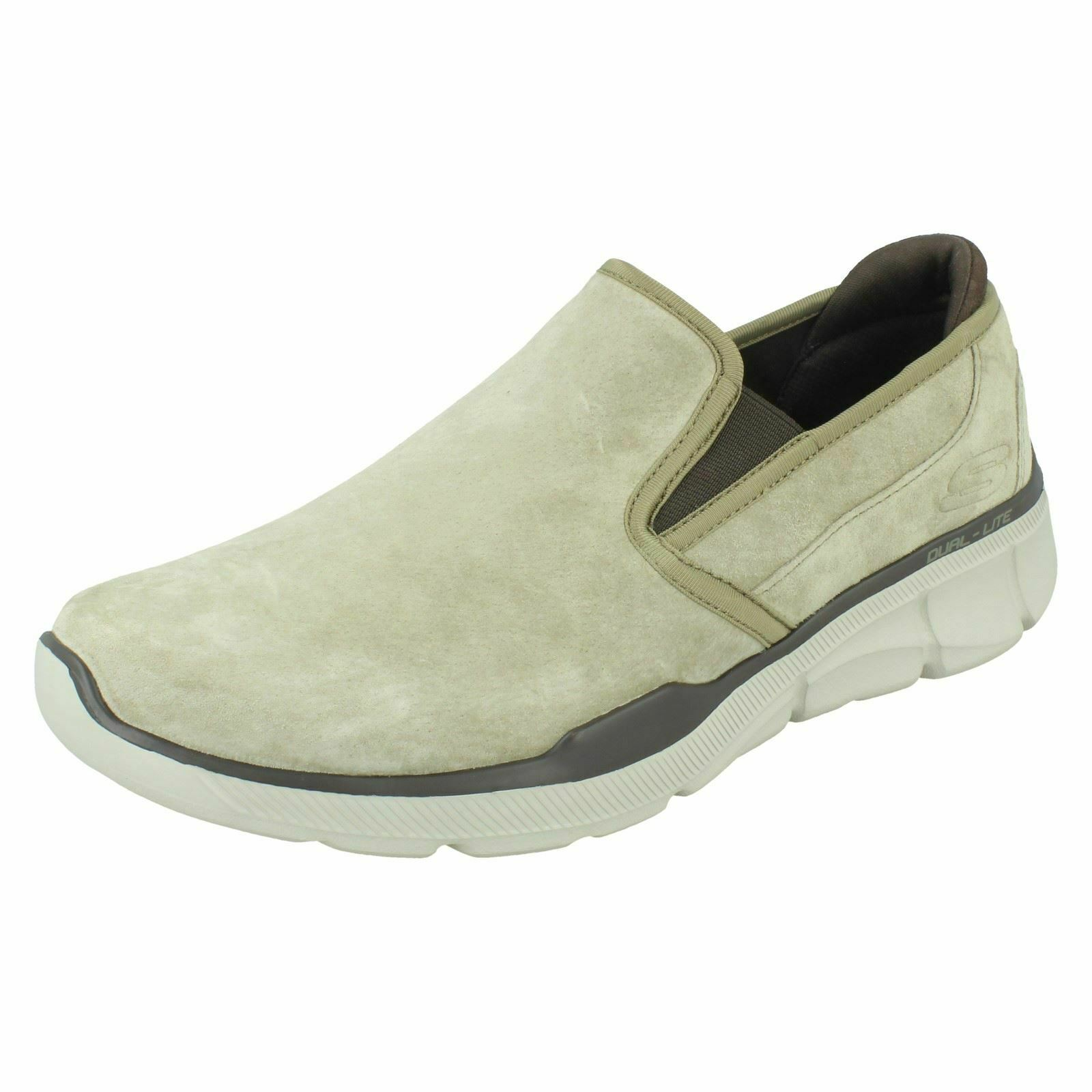 Mens Skechers 52938 Slip On Casual schuhe Equalizer 3.0 Substic