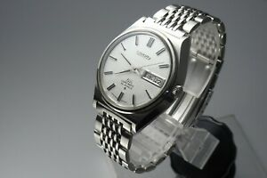 OH-Vintage-1969-JAPAN-SEIKO-LORD-MATIC-WEEKDATER-5606-7010-25Jewels-Automatic