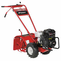 Troy-bilt Pony Es (16) 250cc Forward Rotating Rear Tine Tiller W/ Electric S...