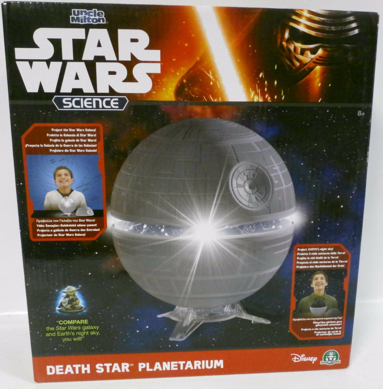NEU STAR WARS SCIENCE - DEATH STAR Planetarium Uncle Milton OVP