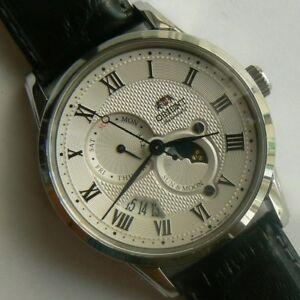 ORIENT FAK00002S0. SUN AND MOON III. Sapphire. Automatic. 5 ATM. New!