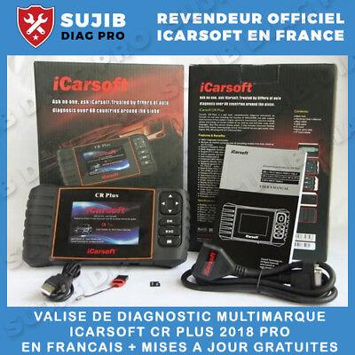 Valise Diagnostique Multimarque pro obd multi-diag AVEC ECRAN CRP123 PREMIUM