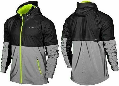 Nike Shield Flash Water Repellent 3M Running Jacket 553680 010 OVP 400€  S-L-XL