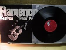 Paco Pena: Flamenco Festival(StrongVG+ Decca Germany Phase 4 LP) Guitar 1976