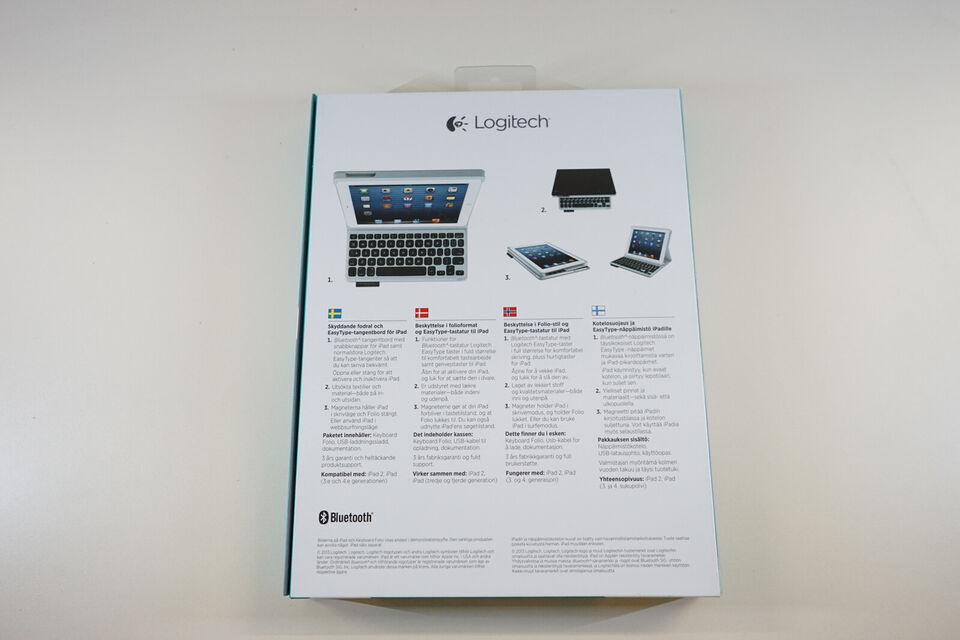 Logitech Keyboard Folie for iPad 2, 3rd & 4th g...