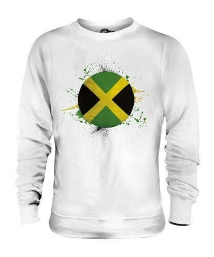 Jamaica Fútbol Unisex Suéter Regalo Top Copa Del Mundo Deporte