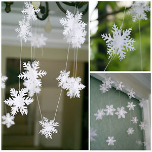 3D-Snowflake-Bunting-Garland-Hanging-Christmas-Party-Decoration