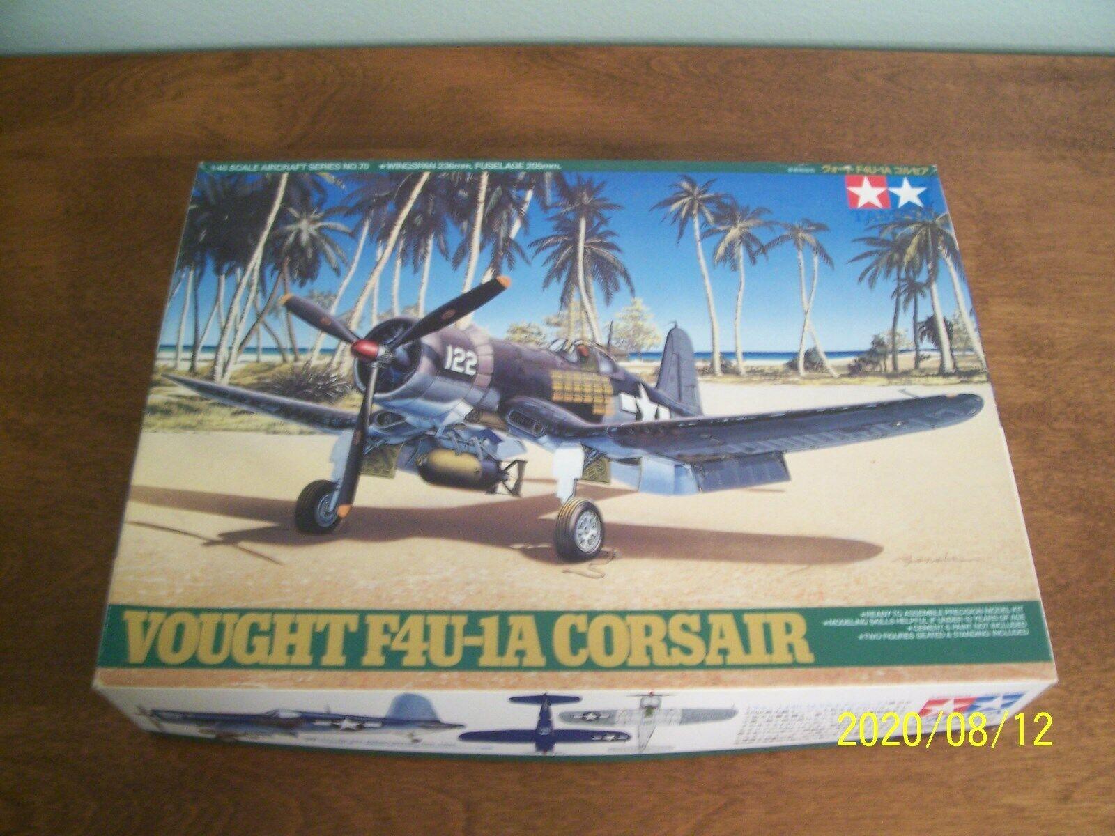 Tamiya Vought F4U-1D Corsair 1:48 Plastic Plane Model Kit Sealed