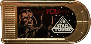 Disney-Pin-90095-WDI-Star-Tours-Characters-With-Quotes-Darth-Vader-Cast-LE-250