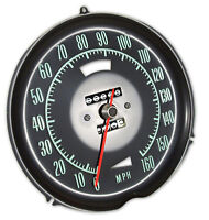 69-71 Corvette Speedometer Without Speed Warning 1524