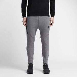 0271065a Details about Nike Tech Fleece Cropped Pants Joggers Heather Grey Obsidian  727355-091 XL 2XL
