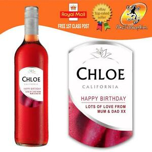 PERSONALISED ITALIAN SPARKLING ASTI WINE BOTTLE LABEL BIRTHDAY ANY OCCASION GIFT