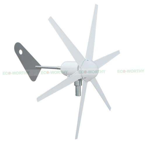 1 of 1 - 300W 12V 6 Blade Wind Turbine Generator for Off/On Grid Home AU Stock