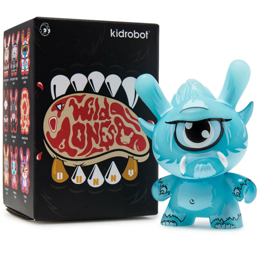 Stroll Case Exclusive GID - Wild Ones Dunny Vinyl Mini Figure by Kidrobot
