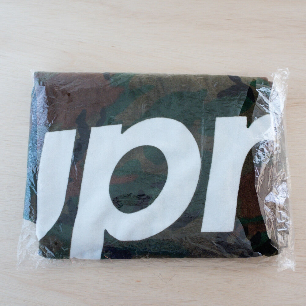 Supreme Camo Beach Towel SS13  DS Brand New  with 100% quality and %100 service
