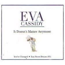 EVA CASSIDY It Doesn't Matter Anymore 2 UNRELEASE TRX CD Single SEALED USA seler