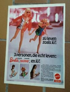 217 / BARBIE - SKIPPER - MATTEL  (1970)