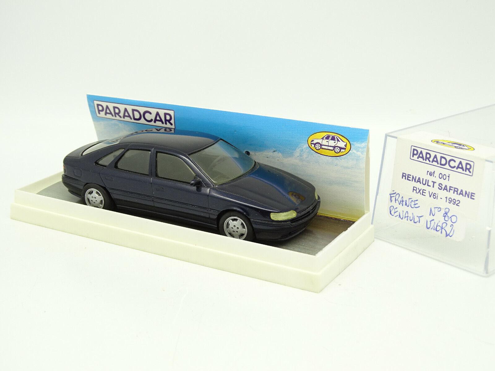 Paradcar 1 43 - Renault Safrane rxe v6 1992