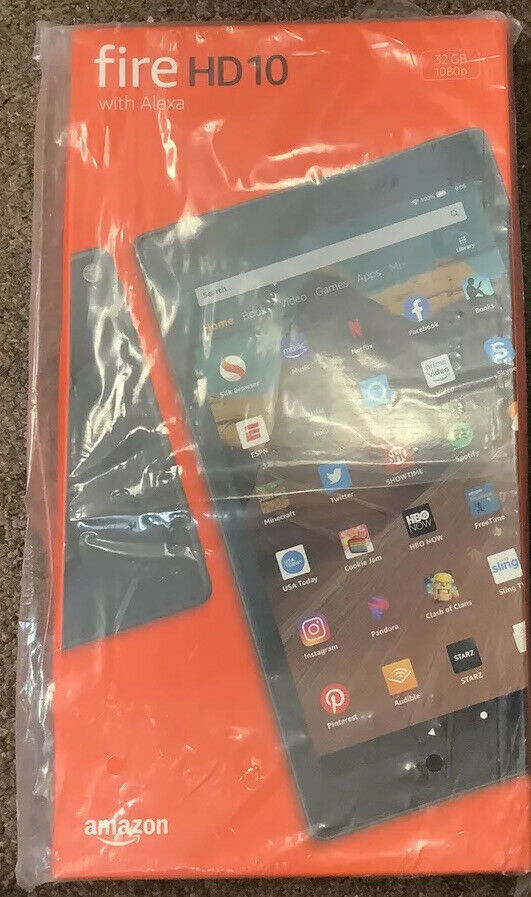 New Amazon Kindle Fire HD 10
