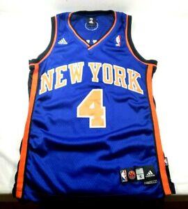 Nate Robinson New York Knicks #4 Adidas NBA Jersey Blue Sz. Small ...