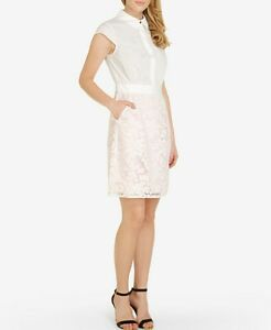 Details About Ted Baker Sarana Lace Dress Size 1us 4