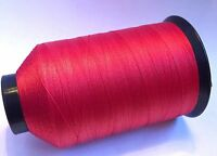 Gudebrod Scarlet 326 Nylon Rod Building Thread 4 Oz Size D, Bamboo All Rods