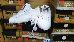 6a76152b1 vintage 80 s spot-bilt hyde jaguar football cleat shoe dead stock ...