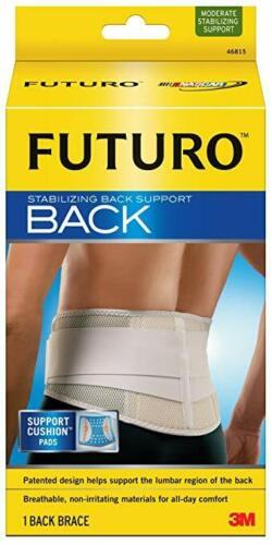 1 BACK BRACE FUTURO STABILIZING BACK SUPPORT