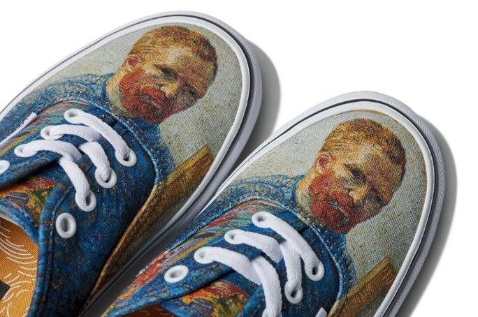 Vans X Vincent Van Gogh Self Portrait Shoes
