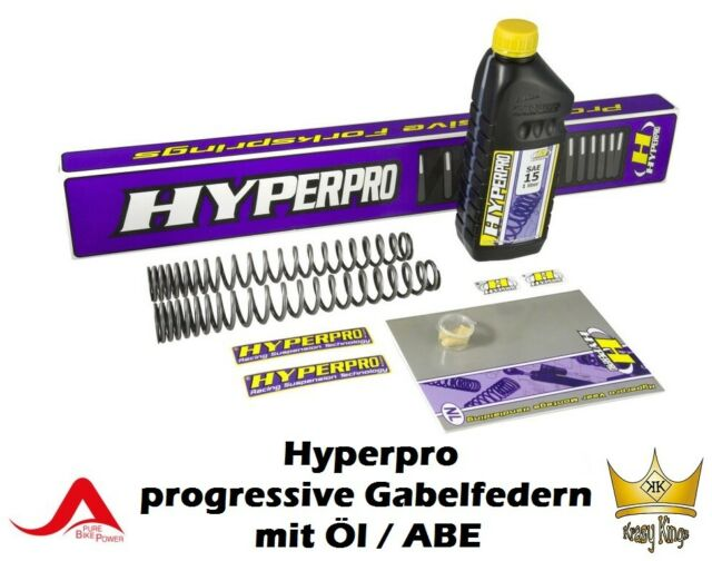 Hyperpro Progresivo Resortes Honda CBR 600RR Año Fab. 05-06 con Aceite Horquilla