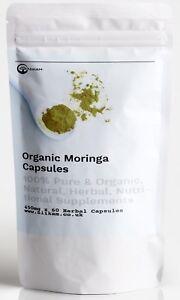 100-CRUDO-ORGANICO-MORINGA-OLEIFERA-Super-milagro-arbol-900MG-RDA-Capsulas