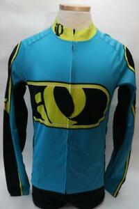 New-Pearl-Izumi-Mens-Elite-Thermal-LTD-Cycling-Bike-M-L-Medium-Large-Jersey-Blue