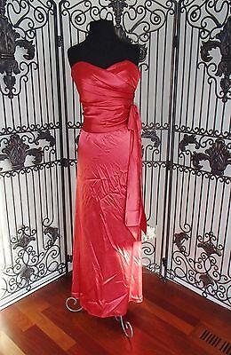 Sr245 Dessy 1755 Knallkörper Sz 12 Formelles Kleid Kleid Modernes Design Brautjungfernkleider