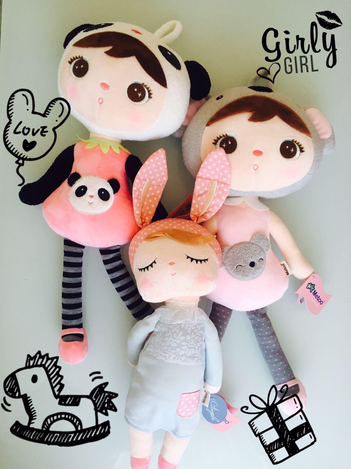 Baby Plüschpuppe, Metoo orginal Doll, Angela, Panda, Koala  |  Neuer Markt